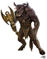 Minotaur: Soterios by CharReed