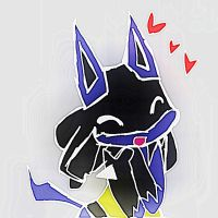 Mini Lucario Love by Toothless6reach