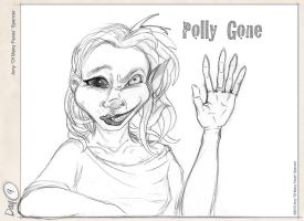"""Polly """"Gone"""" by cephaloneiric"""