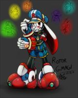 Rotor G Magi: color by Rafeal