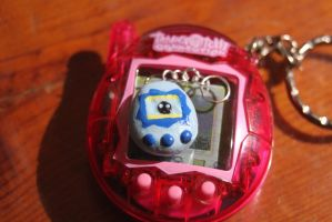 Miniature Tamagotchi by Autumn--Storm