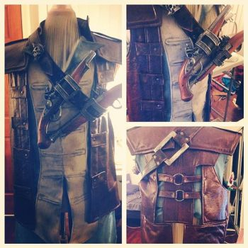 Kenway cosplay progress by Forcebewitya