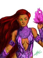 starfire 4 by RoisePoise23
