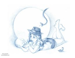 Female Indiana Jones by ArtofLaurieB