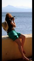 The Girl behind the Camera -ID by elolitta