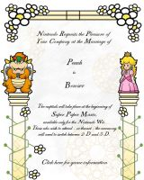 Super Paper Mario Invitation by Italian-223