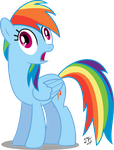 Rainbow Dash What The !?!?! by MLP-Scribbles