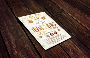 Thanksgiving | Vertical Horizontal + FB Cover by LouisTwelve-Design