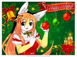 ::Happy Holidays 2012:: by luna777