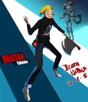Commission: Masao Inaba - Persona 4 Arena Ultimax by DeathNapalm