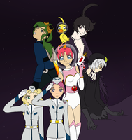 Princess Tutu in Space by Nanenna