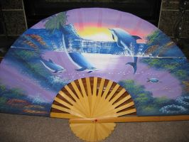 Fan of Dolphins by Spicoli
