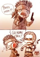 Metal Gear Solid: GO HOME JACK!! by KodamaCreative