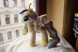 Princess Celestia Plushie by Siora86
