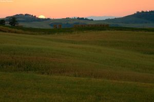 Tuscan Sunset by pestilence