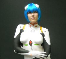 Rei Ayanami Bodypaint by sk8rccd
