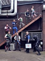KitaCon 2012 Resident Evil group by Leonie-Heartilly