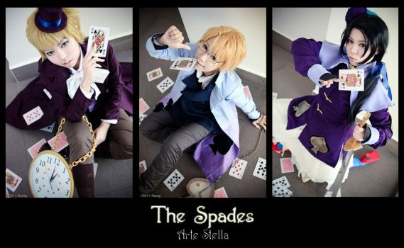 Arte Stella : The Spades by kushiyaki-group