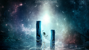 Cosmic Monoliths by GeneRazART
