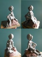 Toph Sculpture by b1938dc
