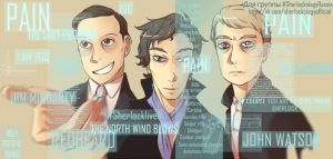 Sherlock's Mind Palace by Julia-Kisteneva