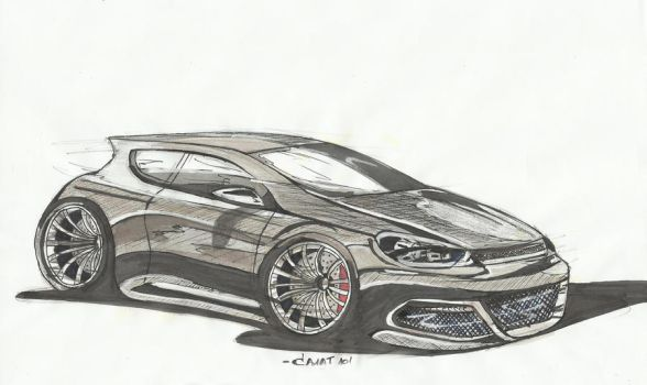 VW Scirocco by SRKA