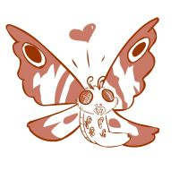Mothra Luv by Marji4x