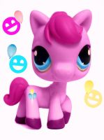 LPS PINKIE PIE 2 by Puffypaw