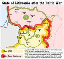 1st Alternate Map of Lithuania by Magnificate