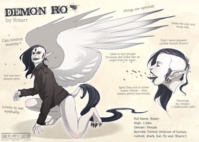Demon Ro Refsheet by FlyQueen