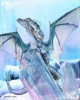 Ice Drake by Cynnalia