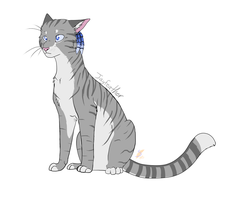 Jayfeather by safirethedragon