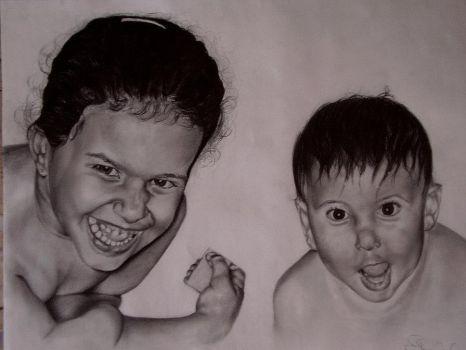 Noy and  Nofar by ilanya