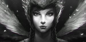 Lady with wings :D by sven-werren