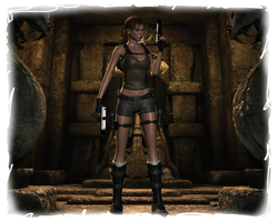 Lara Croft and the Temple of Osiris by TravisCroft6