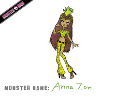 Monster High Contest Entry- Anna Zon by NatSilva