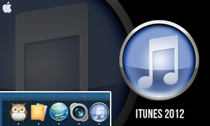 iTunes 2012 by xXFUNSIZEXx