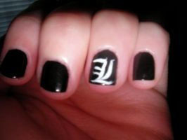 Nails of a Fangirl 2 by foxesdemonica