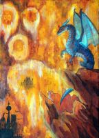 Dragon Flames by Stormslegacy