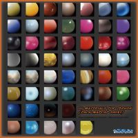 66 MATERIALS FOR ZBRUSH (PACK MATCAP SHINY) by HardPokers