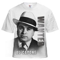 Al Capone T shirt Design by kingsley-wallis