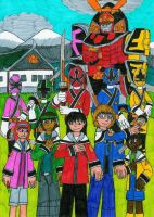 Power Rangers Samurai Master by MCsaurus