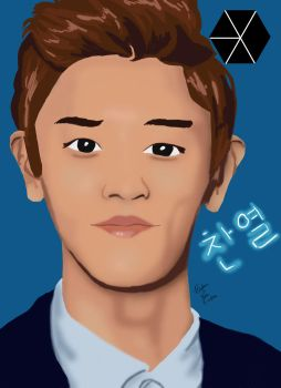Park Chanyeol [Gift Part 2] by sketch7778