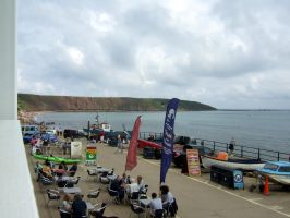 Filey ,sea,front. by Sceptre63