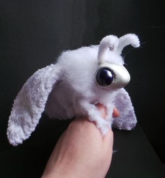 Plush Moth commission WITH ANTENNAE :D by Sovriin