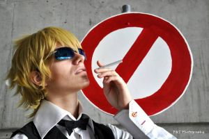 Shizuo - Legit Warning by Kim-T-Mikk