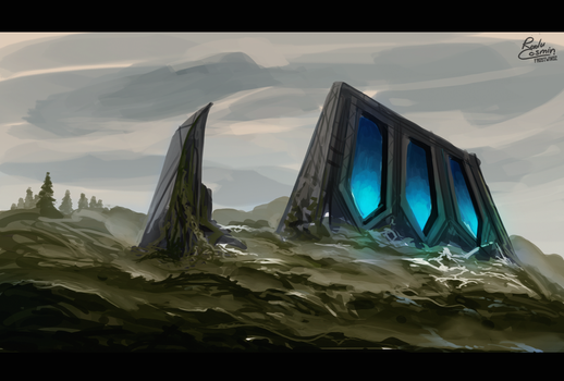 Ruins by Frostwindz