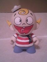 Flapjack Munny by Justhrertolook