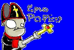 emo pope the II by JeVuS