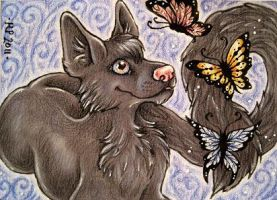 ACEO Trade: Neraya by Agaave